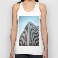 30 rock Tank Tops featuring The Rock by MikeMartelli