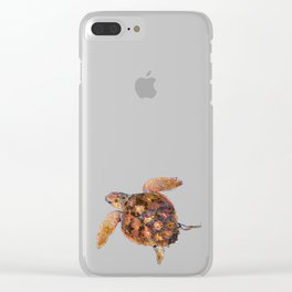 Loggerhead turtle Clear iPhone Case