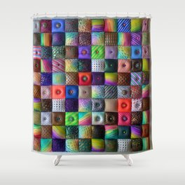 Patchwork of Joy Shower Curtain