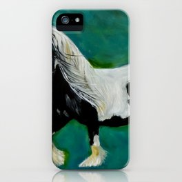 Gypsy Vanner 11 iPhone Case