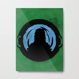 Ace of Cauldrons Metal Print