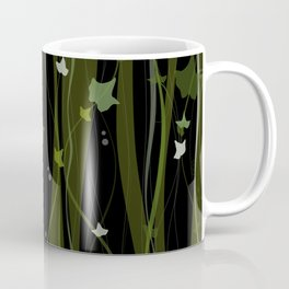Climbing Vines Dark - English Ivy Coffee Mug