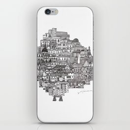 Buenos Aires Map iPhone Skin