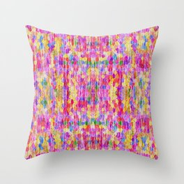 Shabby Rug Throw Pillow
