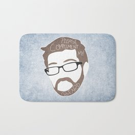 Bearded Compliments Bath Mat