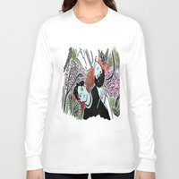 kpop Long Sleeve T-shirts featuring Forest Floor by Ahri Tao