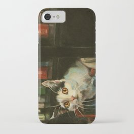 The Writer's Cat iPhone Case