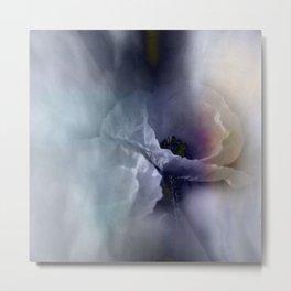 flowers in pastell colors - poppy Metal Print
