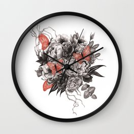 The Heart Asks Pleasure First Wall Clock