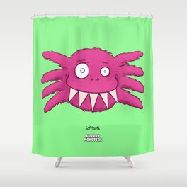 Soft Tooth Shower Curtain