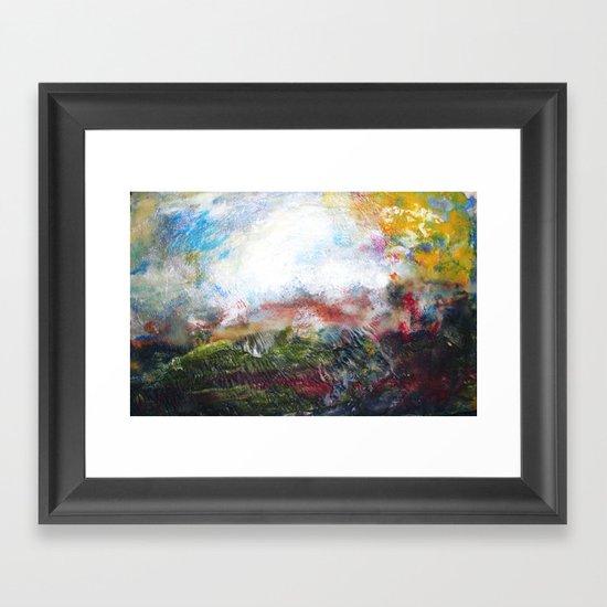 Prarie Framed Art Print