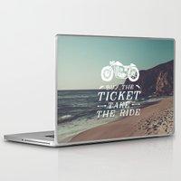 wanderlust Laptop & iPad Skins featuring Wanderlust by Gumo Andreatta