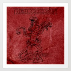 Demogorgon II Art Print