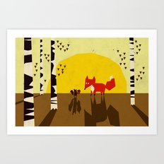 For you! Art Print
