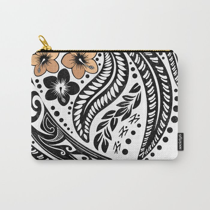 Polynesian Tribal Carry-All Pouch