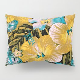 Golden Vintage Aloha Pillow Sham
