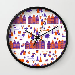 Welcome to the North Pole Wall Clock