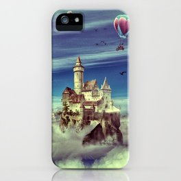 Laputa - Castle in the Sky iPhone Case