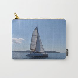 Catamaran In The Mediterranean Carry-All Pouch