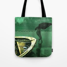 Dark river Tote Bag