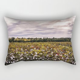 Cotton Field 23 Rectangular Pillow