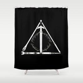 wand Shower Curtain
