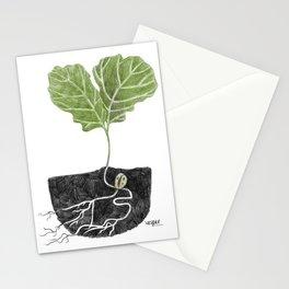Oak Baby Stationery Cards
