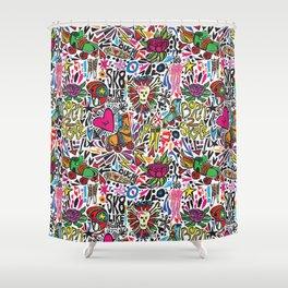Derby Girl Shower Curtain