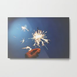 Sparkler (Fourth of July) Metal Print