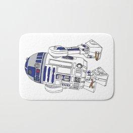 R2D2 Bath Mat