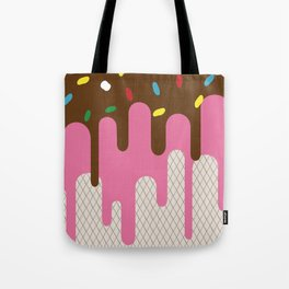 The ice-donut Tote Bag