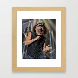 Brian Johnson Framed Art Print