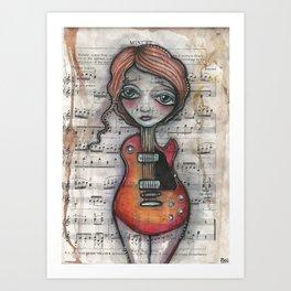 """""""Minuet""""  Art Print"""