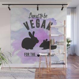 Proud to be Vegan Wall Mural