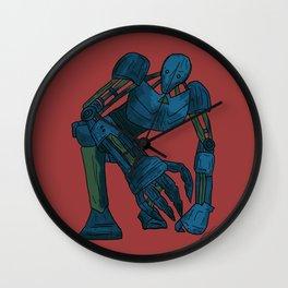 ROBOTO #2 Wall Clock