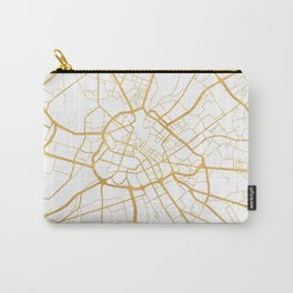 MANCHESTER ENGLAND CITY STREET MAP ART Carry-All Pouch