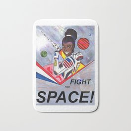 Fight For Space Bath Mat