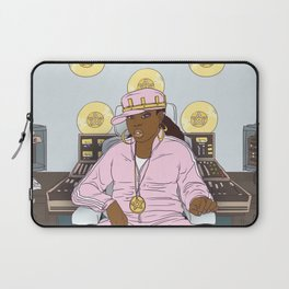 Queen of Pentacles - Missy Elliott Laptop Sleeve