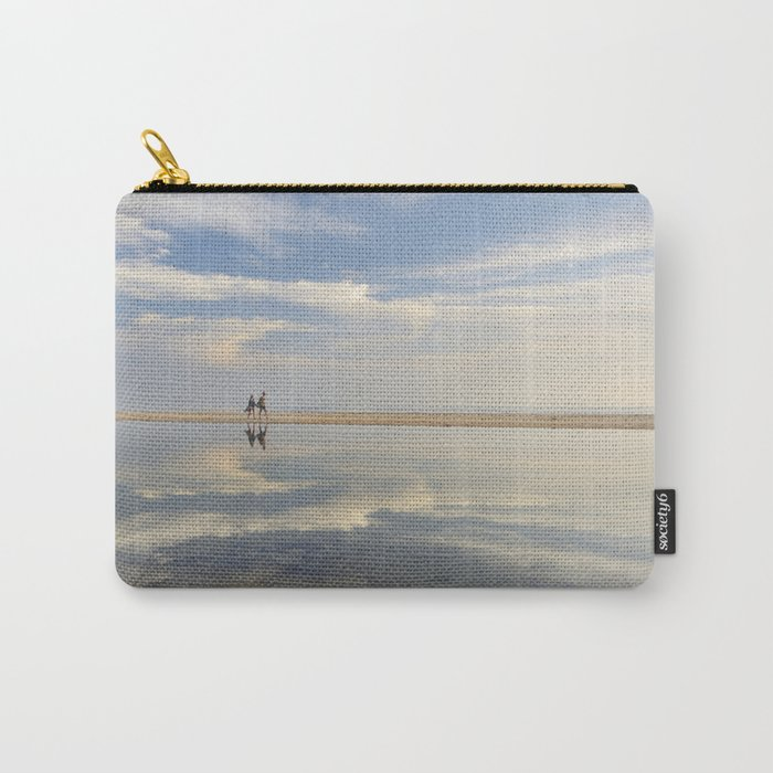 """""""Heaven walk"""". Sea sunset Carry-All Pouch"""