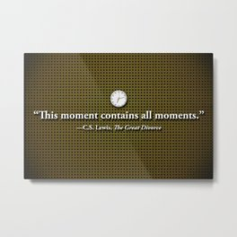 This Moment Metal Print