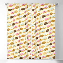 Eating Donuts Blackout Curtain