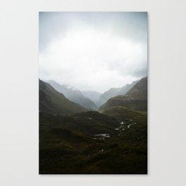 Harris Saddle  Canvas Print