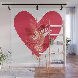 Feelings (Pink) Wall Mural