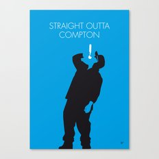 No079 MY NWA Minimal Music poster Canvas Print
