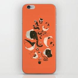 Cones of Shame (orange) iPhone Skin