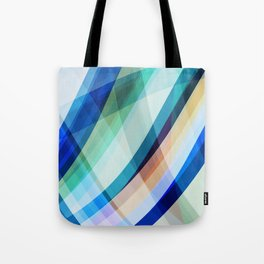 Blue Madness Tote Bag