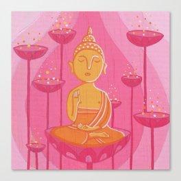 Buddha G Canvas Print