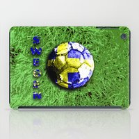 sweden iPad Cases featuring Old football (Sweden) by seb mcnulty