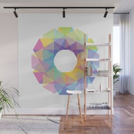 Fig. 036 Colorful Circle Wall Mural