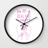 rupaul Wall Clocks featuring Lil Poundcake by Stevie NYC
